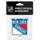 Perfect Cut Decal New York Rangers