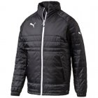 Puma Stadium Jacket black-white ADULT