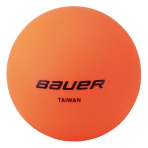 Bauer No Bounce Hockey Ball warm