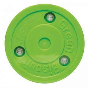Green Bisquit Training Puck