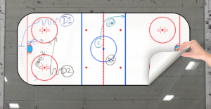 Hockey Writeyboard 40x80 cm