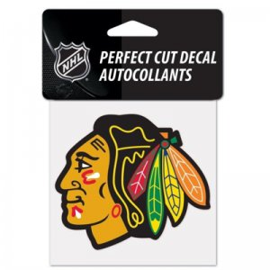 Perfect Cut Decal Chicago Blackhawks