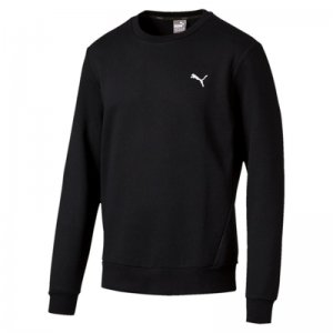 Puma ESS Crew Sweat Cotton Black ADULT L