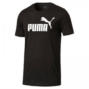 Puma ESS No.1 Tee Cotton Black ADULT S