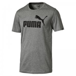 Puma ESS No.1 Tee Medium Gray Heather ADULT M
