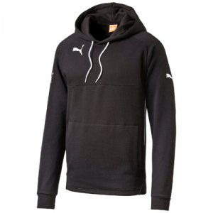 Puma Hoody black-white ADULT XL