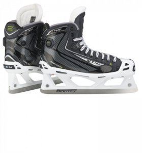 Goalie Schlittschuhe CCM 44K Pump JUNIOR 4.5 D